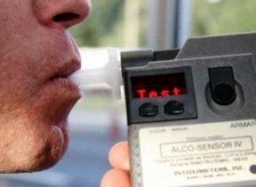 Motorista é preso após se flagrado embriagado ao volante