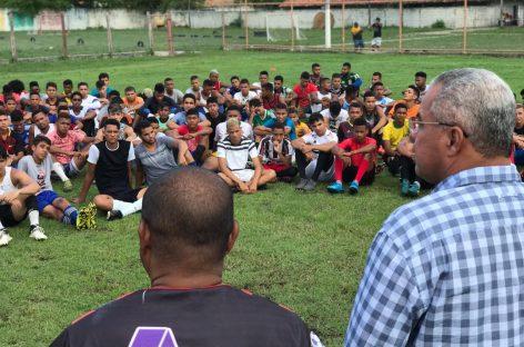 Com apoio da Prefeitura de Socorro, seletiva escolhe atletas que irão atuar no campeonato sergipano sub-20