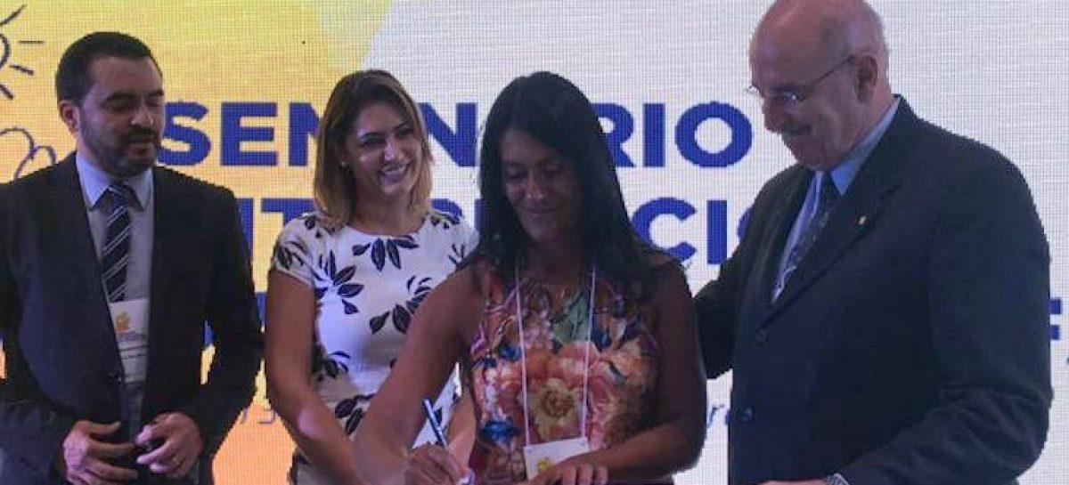 Eliane Aquino reafirma o compromisso de Sergipe com a primeira infância