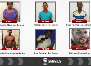 Polícia Civil de Umbaúba prende seis pessoas por tráfico de drogas
