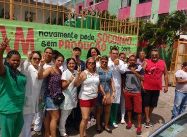 Funcionários do Hospital Amparo de Maria continuam em greve