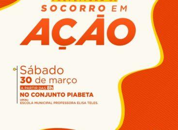 Prefeitura de Socorro em Ação: Segunda edição do evento será realizada no Conjunto Piabeta