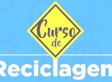 Curso de Reciclagem do Detran/SE será realizado nos dias 25, 26 e 27