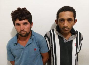 Dupla é presa em flagrante por latrocínio em Canindé