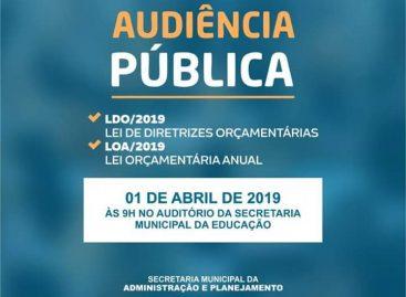 Prefeitura de Estância convida toda população para participar das discussões da LOA e LDO