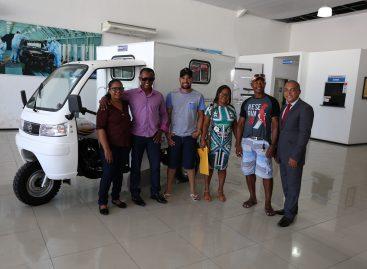 MPT/SE desina triciclo ambulância para Ilha de Mem de Sá