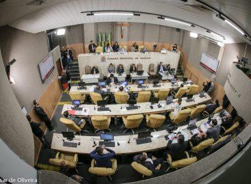 Câmara Municipal de Aracaju aprecia 20 proposituras nesta terça