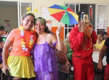 Socorro – usuários do Caps Janser Carlos participam de festa de carnaval