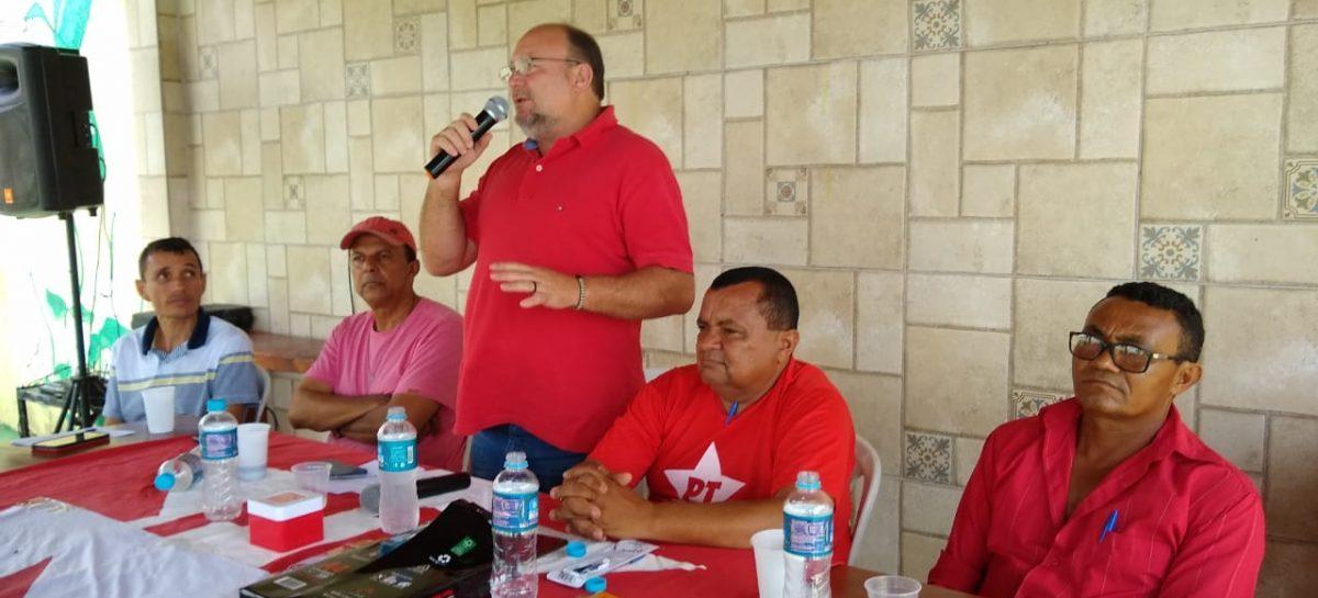 Reunião ampliada do PT da região sul e centro-sul