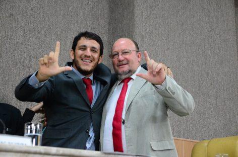 João Daniel participa da posse do vereador Camilo Lula em Aracaju