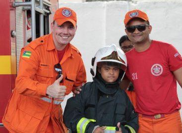"""Assistidos da Apae Aracaju terão um dia de """"bombeiros extraordinários"""""""
