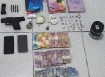 PC prende traficante de drogas com arma roubada de um policial federal