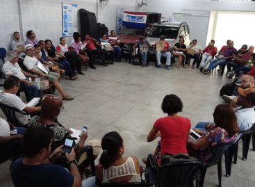 Luta pela água e contra a Reforma da Previdência mobiliza trabalhadores e sociedade civil