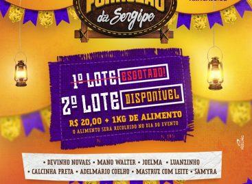 Forrozão da Sergipe: liberada a venda de ingressos do 2º lote