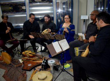 Apresentação musical marca celebração dos dez anos da CCTeca