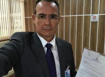 Zezinho Sobral protocola pedido de audiência no Dnit, em Brasília
