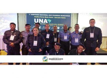 Policiais Municipais de Rosário do Catete participam de Simpósio Nacional