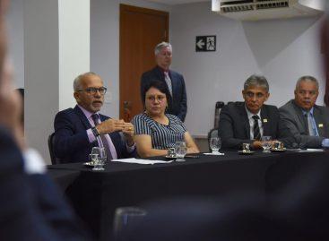 Edvaldo Nogueira participa de reunião com o presidente do Senado