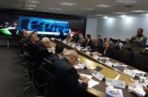 João Eloy discute repasse de recursos do Fundo Nacional de Segurança Pública