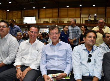 Ministra da Agricultura diz que Laércio é um deputado atuante na Câmara