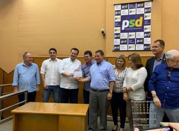 Coordenadora do PSD Mulher, Maisa Mitidieri, comemora o sucesso do Encontro Democrático