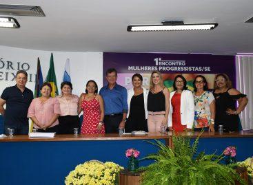 Laércio participa do I Encontro Mulheres Progressistas em Aracaju