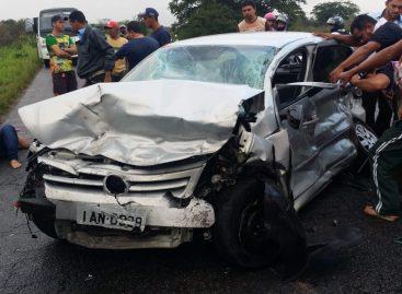 Acidente deixa pelo menos três feridos no interior do estado