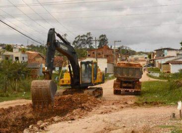 Prefeitura de Socorro inicia obra de pavimentação no Loteamento Guajará