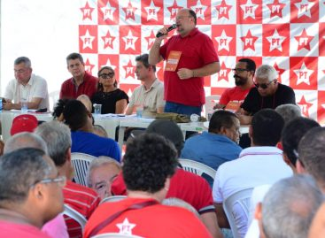 João Daniel assume presidência do Diretório Estadual do PT em Sergipe