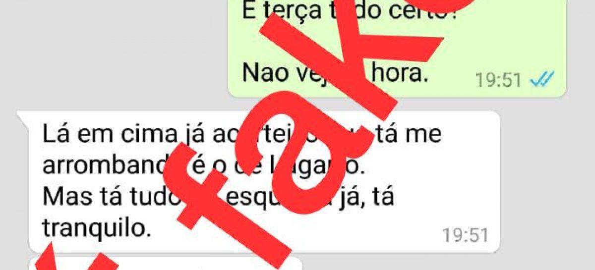 Assessoria juridica de Valmir de Francisquinho vai acionar fake news