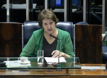 Senadora tenta viabilizar recursos para amenizar danos provocados pela seca