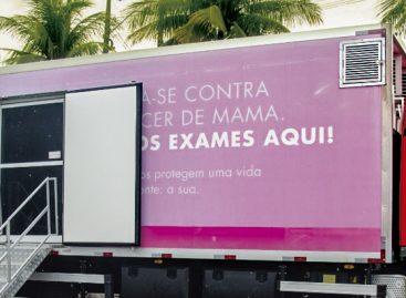 Carreta de Barretos estará no Caism realizando mamografias até o dia 22 de março