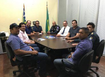 Segurança Rural é tema de audiência com deputado Zezinho Sobral e SSP