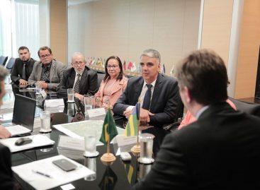 Em Brasília, prefeito e comitiva buscam projeto de infraestrutura para Tobias Barreto