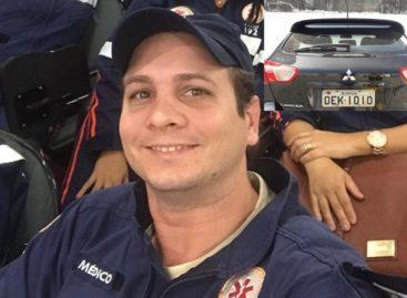 Médico que atuava no Samu é encontrado morto dentro de carro