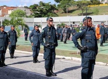 PM realiza solenidade de formatura dos Cursos de Formação de Sargentos e Cabos