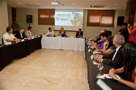 Governo discute demandas de Sergipe em reunião com lideranças políticas e empresariais
