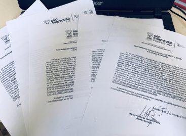 Prefeitura de São Cristóvão rescinde contratos com construtora