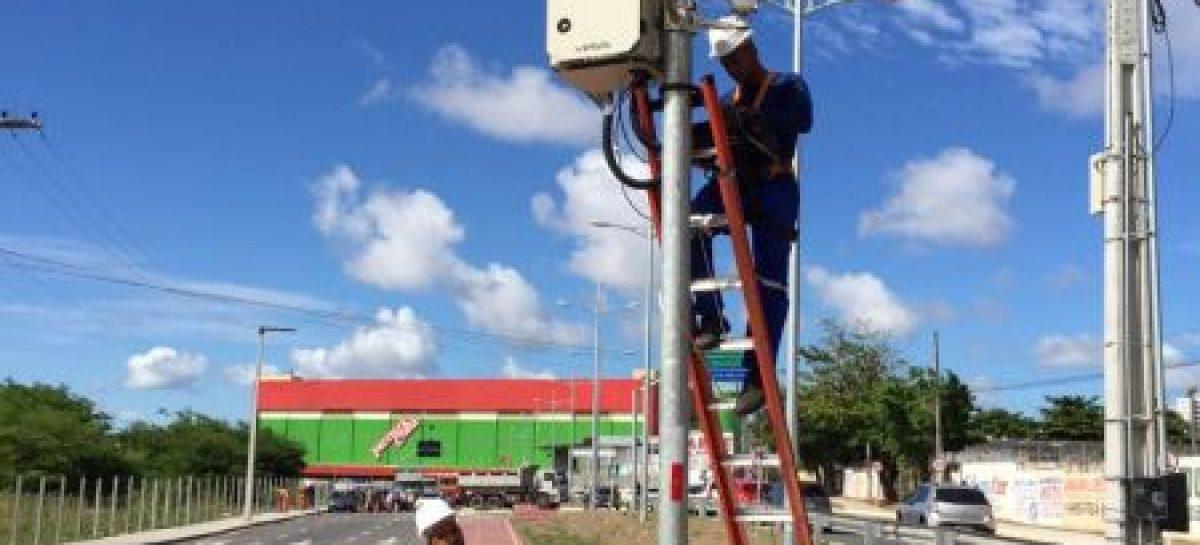 Radares da avenida Etelvino Alves de Lima começam a operar no dia 11 de março