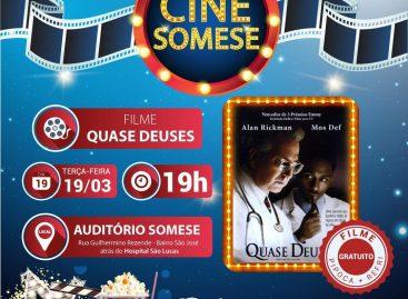 Primeira edição do Cine Somese exibirá o filme 'Quase Deuses'