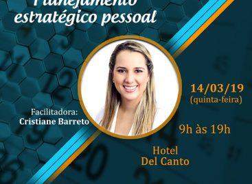Cristiane Barreto ministra III turma de Workshop sobre Planejamento Estratégico