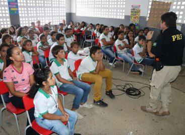 Escola da Rede Pública Municipal de Lagarto é a primeira de Sergipe a receber o Festival da PRF