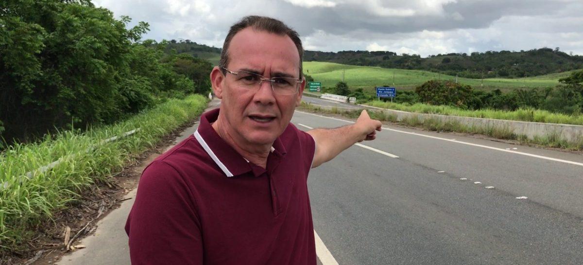BR 101: Zezinho Sobral diz que atraso nas obras é um calo e desrespeito aos sergipanos