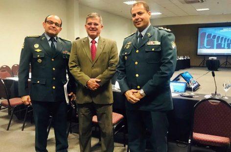 Subcomandante da PMSE participa de reunião do CNCG com o ministro da Justiça