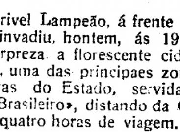 Quem roubou Aracaju?