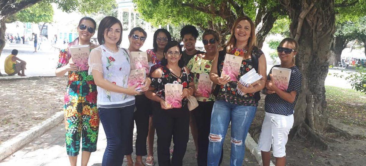 Projeto Mulheres de Cores comemorou o Dia da Mulheres na feira livre de Estância