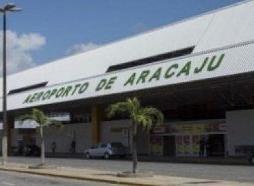 Concessão do aeroporto de Aracaju será leiloada sexta-feira, 15