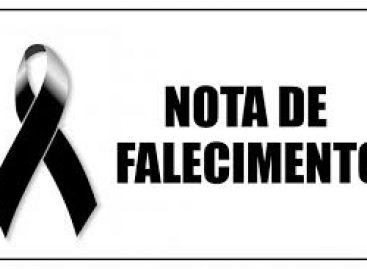 Familiares de Divaci Melo Calixto comunicam seu falecimento