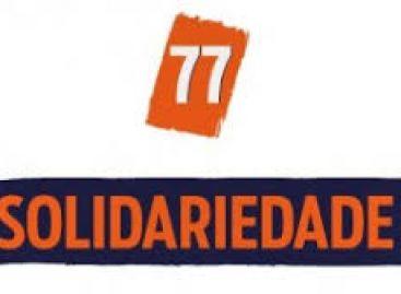 Solidariedade fará convenção estadual no próximo dia 4 de maio