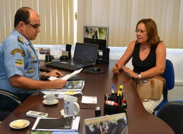Deputada Goretti Reis solicita a Ronda Maria da Penha para Lagarto